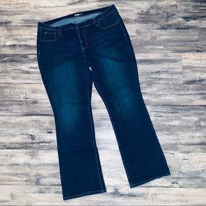 Old Navy Curvy Jeans Boot Cut sz 18